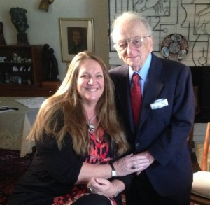 Ben Ferencz and Wendy White