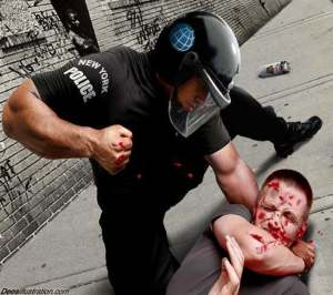 NY Cop Beating